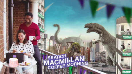 MacMillan: Coffee Morning Film by AMV BBDO London, Blinkink, ZenithOptimedia London