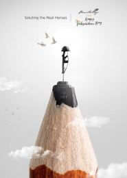 Pencil Wings: Independence Day Print Ad by Pencil Wings