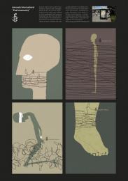 Amnesty International: End inhumanity Print Ad by Ogilvy & Mather Duesseldorf, Ogilvy & Mather Frankfurt