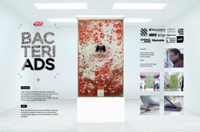 Lifebuoy: Bacteriads [spanish image]  Outdoor Advert by The Electric Factory