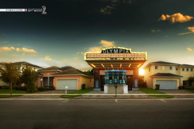 Mustang: Theater Print Ad by Zubi Advertising