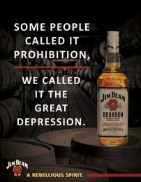 Jim Beam: Rebellious Spirit, 2 Print Ad by Miami Ad School Miami