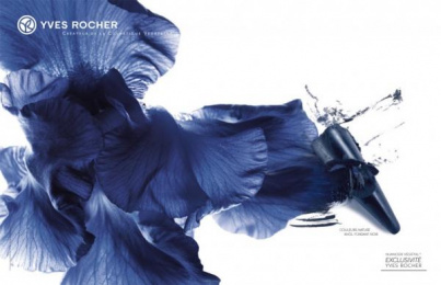 Yves Rocher Cosmetics: Blue Print Ad by M&C Saatchi Paris