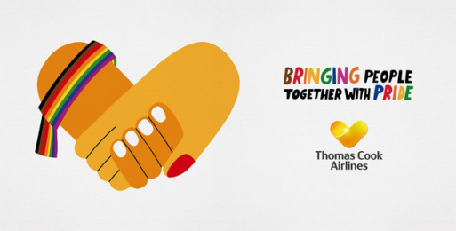 Thomas Cook Group Airlines: Bringing People Together With Pride, 2 Outdoor Advert by BJL Manchester
