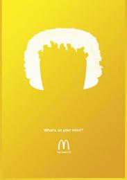 Mcdonald's Fast Food Restaurant: Fries Print Ad by Heye & Partner Munich