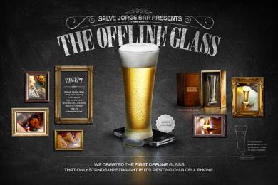 Salve Jorge Bar: Offline Glass Case study by Fischer America Sao Paulo