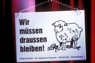 Prinz Myshkin: SHEEP Print Ad by Xynias Wetzel Von Buren