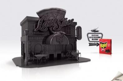 Raid: Raid® roach Restaurants, 3 Print Ad by Energy BBDO Chicago