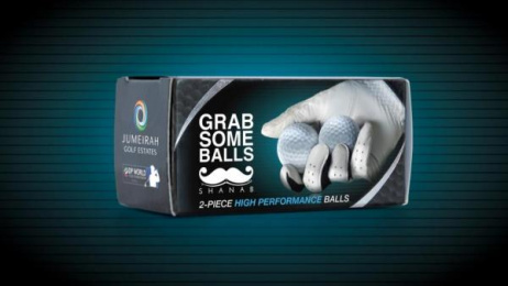 Friends Of Cancer Patients: Grab Some Balls Direct marketing by J. Walter Thompson Dubai
