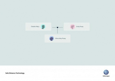 Volkswagen: Olivia Print Ad by DDB Mexico