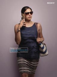 Sony Xperia M4 Aqua: Sandal Phone Print Ad by ITSA Brand Innovations Ltd, MAP (Manoj Adhikari Productions)