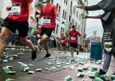 Qroma: American Colors - Marathon Print Ad by Fahrenheit DDB Lima
