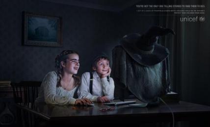 UNICEF (United Nations International Children's Emergency Fund): Hansel Gretel Print Ad by David Buenos Aires