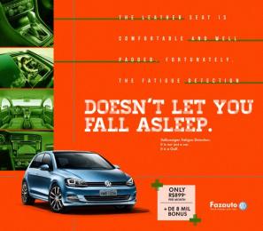 Volkswagen: Golf, 3 Print Ad by G Marketing Comunicação