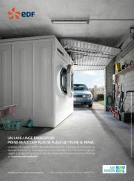Edf: TOUS AUX ECONOMIES D'ENERGIE Print Ad by Havas Worldwide Paris