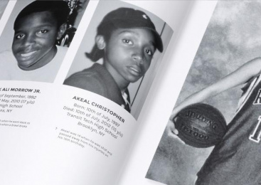 New Yorkers Against Gun Violence/ NYAGV: Sign Their Yearbook [image] 5 Design & Branding by Volt