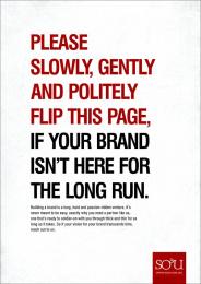 SO&U: Flip Print Ad by SO&U Lagos