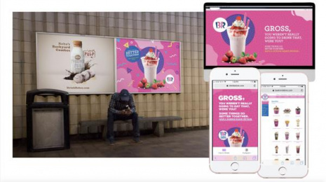 Baskin Robbins: Baskin Robbins Print Ad by Outfront Studios