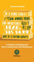 McDonald's: Graduation 2020 - Newton Digital Advert by Leo Burnett Milan