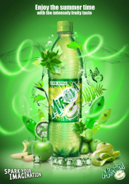 Mirinda: Green apple Print Ad by Impact BBDO Cairo