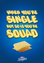 Kraft: Squad Print Ad by Miami Ad School New York