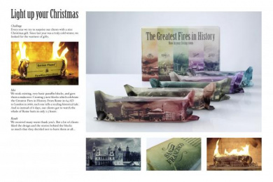 Jwt: Light up your fireplace Direct marketing by J. Walter Thompson Amsterdam
