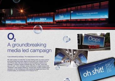 O2: Case study Outdoor Advert by Havas Media London