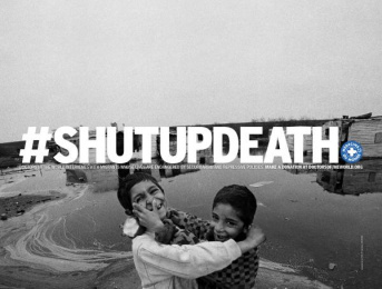 Doctors Of The World: Shut Up Death, 5 Print Ad by DDB Paris, Frenzy