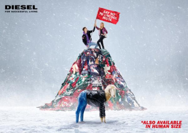 Diesel: Say No To Uncool Wool [print] Print Ad by Mercurio Cinematografica, Publicis Italy
