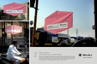 Bajaj Electricals: Bajaj Wheeler Outdoor Advert by Quadrant Communications