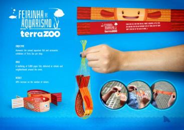 Terra Zoo: Fish Direct marketing by Quadrante Advertising