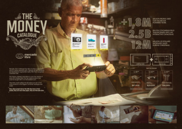 Mercado Libre: The Money Catalogue - Case Board Case study by Macarena Limitada, Sancho BBDO Bogota