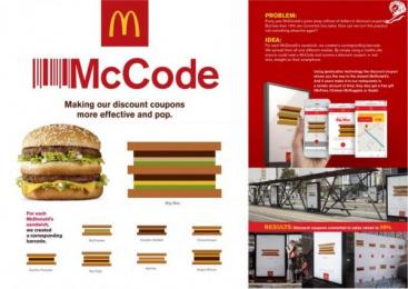 McDonald's: Mc Code Outdoor Advert by DDB Sao Paulo