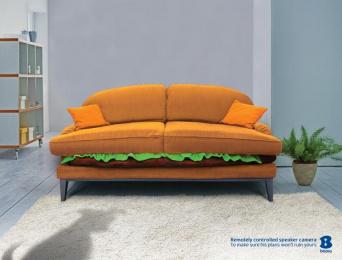 Bezeq: Dogsitter Print Ad by Acw Grey Tel-Aviv