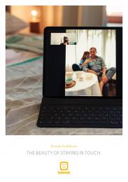 Telenet: Lockdown Portraits, 4 Print Ad by L.A. Initials, TBWA, Belgium