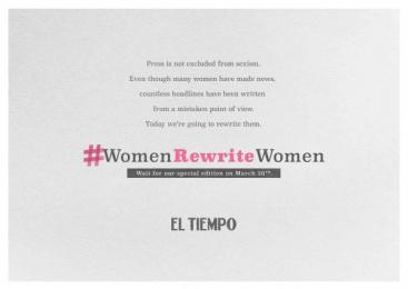 Casa Editorial El Tiempo: Announcement Print Ad by MullenLowe SSP3 Bogota