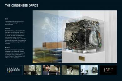 Jwt: CONDENSED OFFICE Design & Branding by J. Walter Thompson Amsterdam