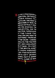 Dark Dog: Black Disclaimer Print Ad by Y&R Singapore