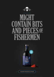 The Safe Sailing Council: Fish Food, 2 Print Ad by BBDO Denmark, Hjaltelin Stahl