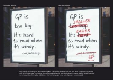 Goteborgs-posten: WINDY Print Ad by Forsman & Bodenfors Gothenburg