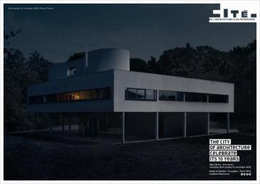 Cite De L'architecture Et Du Patrimoine: Villa Savoye Outdoor Advert by Havas Worldwide Paris