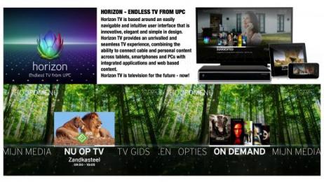 UPS: HORIZON TV Design & Branding by Cisco