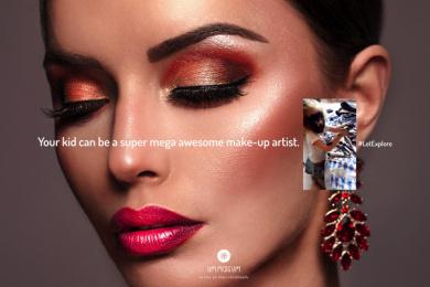 Um Mais Um: #LetExplore, 4 Print Ad by F&MD Brazil