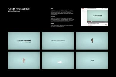 Quercus Books: MICHAEL JACKSON Digital Advert by H-57