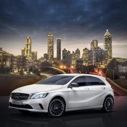 Mercedes-benz A-class: City Edition Print Ad by Online Circle Digital South Melbourne