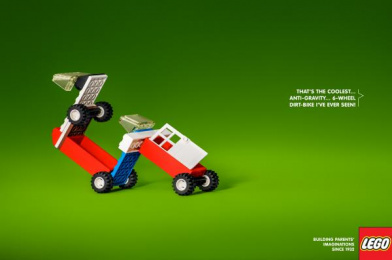 LEGO: 6-wheel Dirt Bike Print Ad by Brad