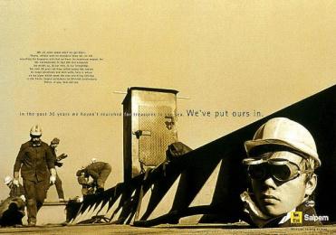 Saipem: 30 YEARS Print Ad by Xyz Comunicazione