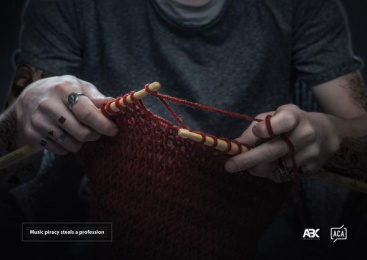 ABK communications Tbilisi: Knitting Print Ad by ABK communications Tbilisi
