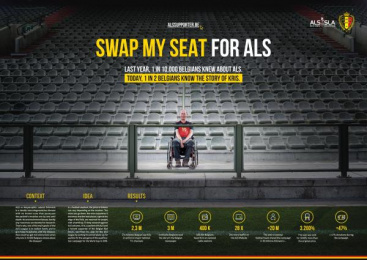 ALS League: Swap My Seat For Als [image] Film by Publicis Brussels