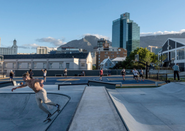 V&a Waterfront: Battery Park, 2 Print Ad by dhk Architects